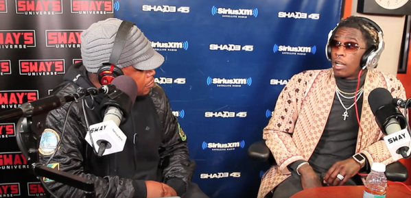 Young Thug Talks Kanye West, Lil Wayne, Game & More On 'Sway In The Morning' (VIDEO)