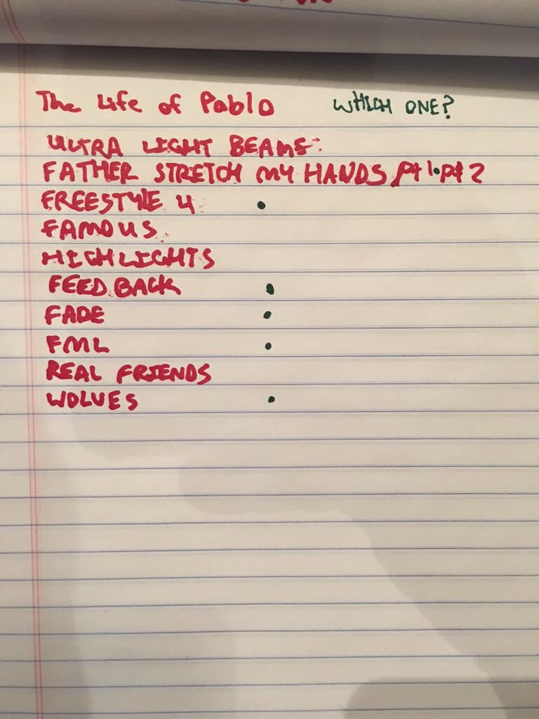 Kanye West Reveals The Tracklist + Title To Upcoming Album