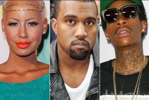 """Audio: Wiz Khalifa Says """"Beef Squashed"""" w/ Kanye & Talks Kim & Amber Rose Hanging Out"""