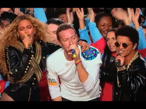 Coldplay, Beyoncé & Bruno Mars Super Bowl 50 Halftime Performance