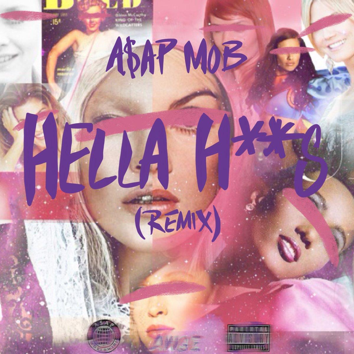 New Music: A$AP Mob x Aston Matthews x Danny Brown – Hella Hoes (Remix)
