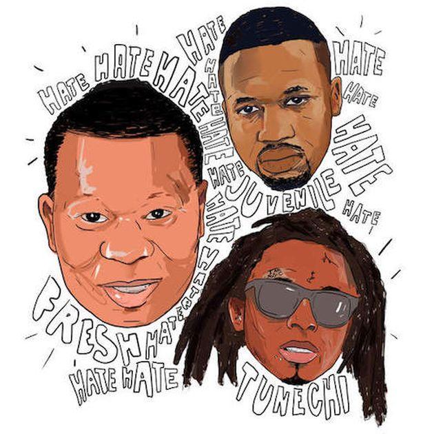 New Music: Mannie Fresh – Hate (Ft. Juvenile & Lil Wayne)
