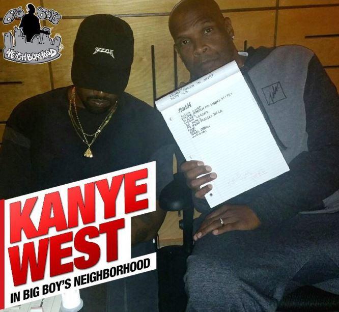 Kanye West Talks New Album, Wiz Khalifa Beef, Drake's Pool & More On 'Big Boy's Neighborhood'
