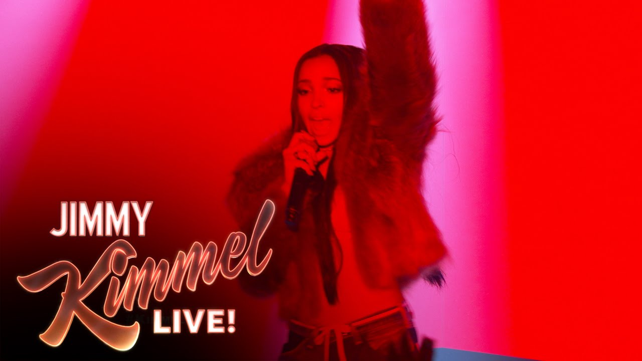 Tinashe Performs On 'Jimmy Kimmel Live' (VIDEO)