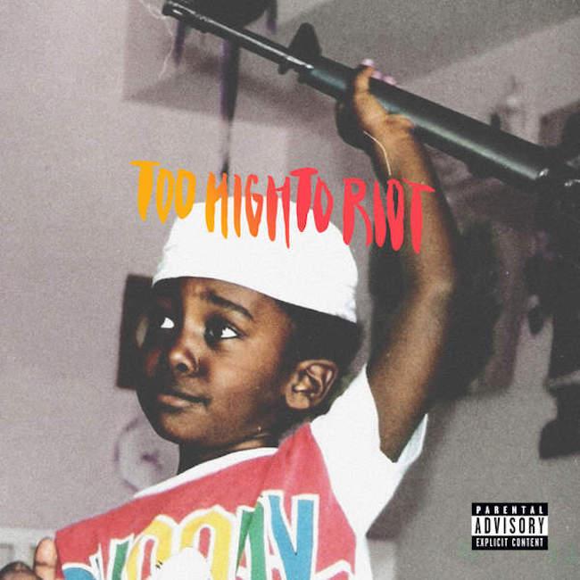 Artwork + Tracklist: Bas – Too High To Riot