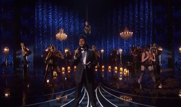 The Weeknd Performs Live At The 88th Annual Academy Awards (VIDEO)