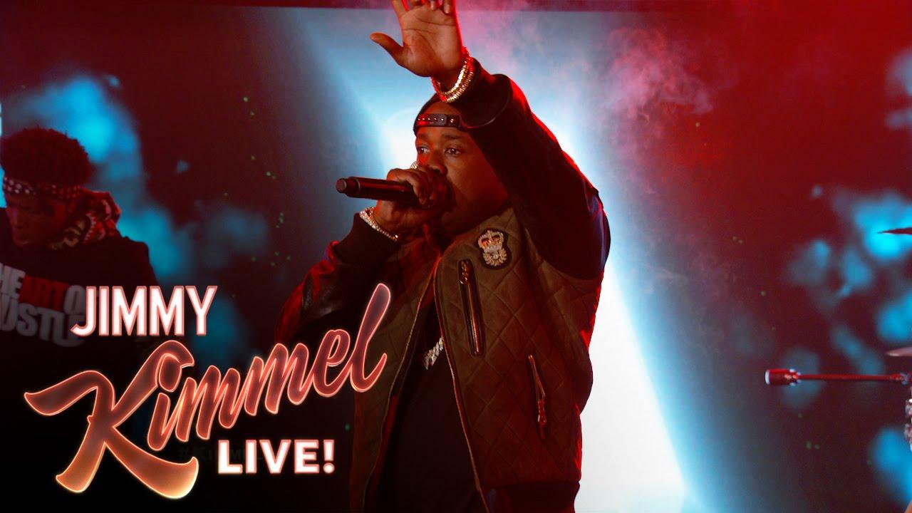 "Yo Gotti Performs ""Down In The DM"" On 'Jimmy Kimmel Live' (VIDEO)"