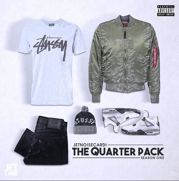 EP: JetNoiseCardi – The Quarter Pack (Season One)
