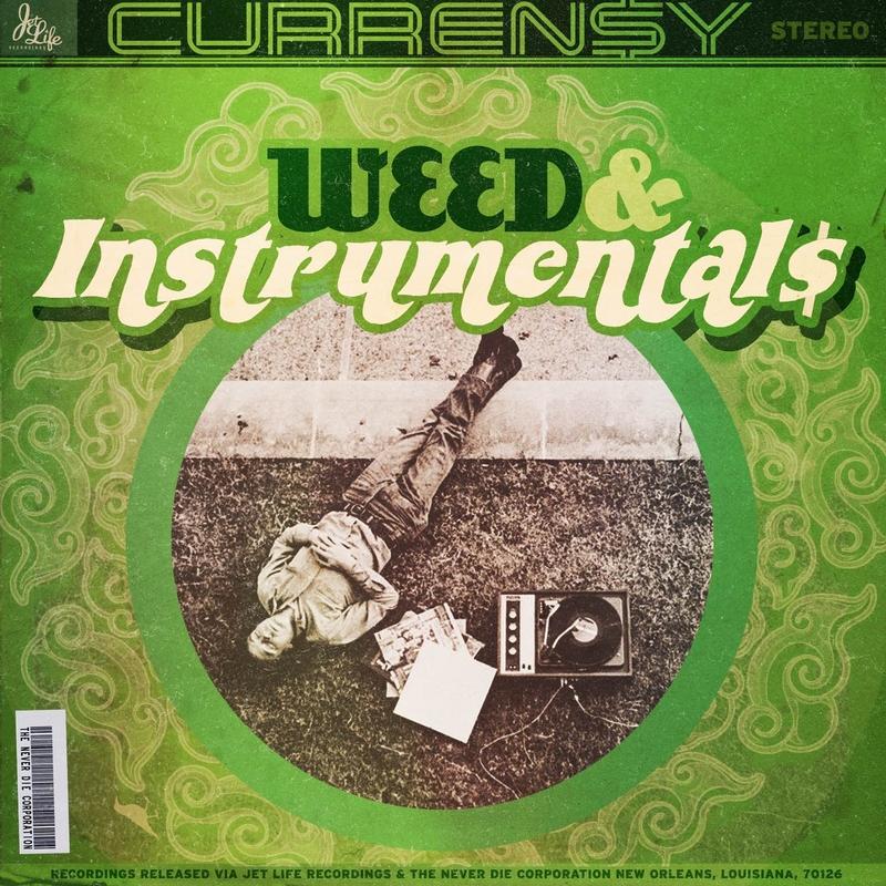 New Mixtape: Curren$y – #WeedAndInstrumentals
