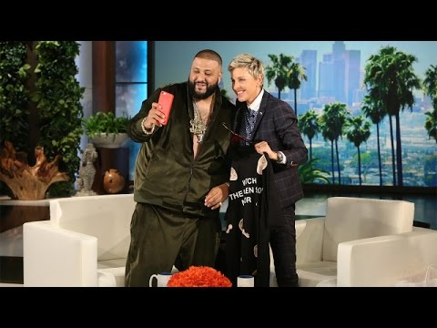 DJ Khaled Talks Jay-Z, Apple & More On 'The Ellen Show' (VIDEO)