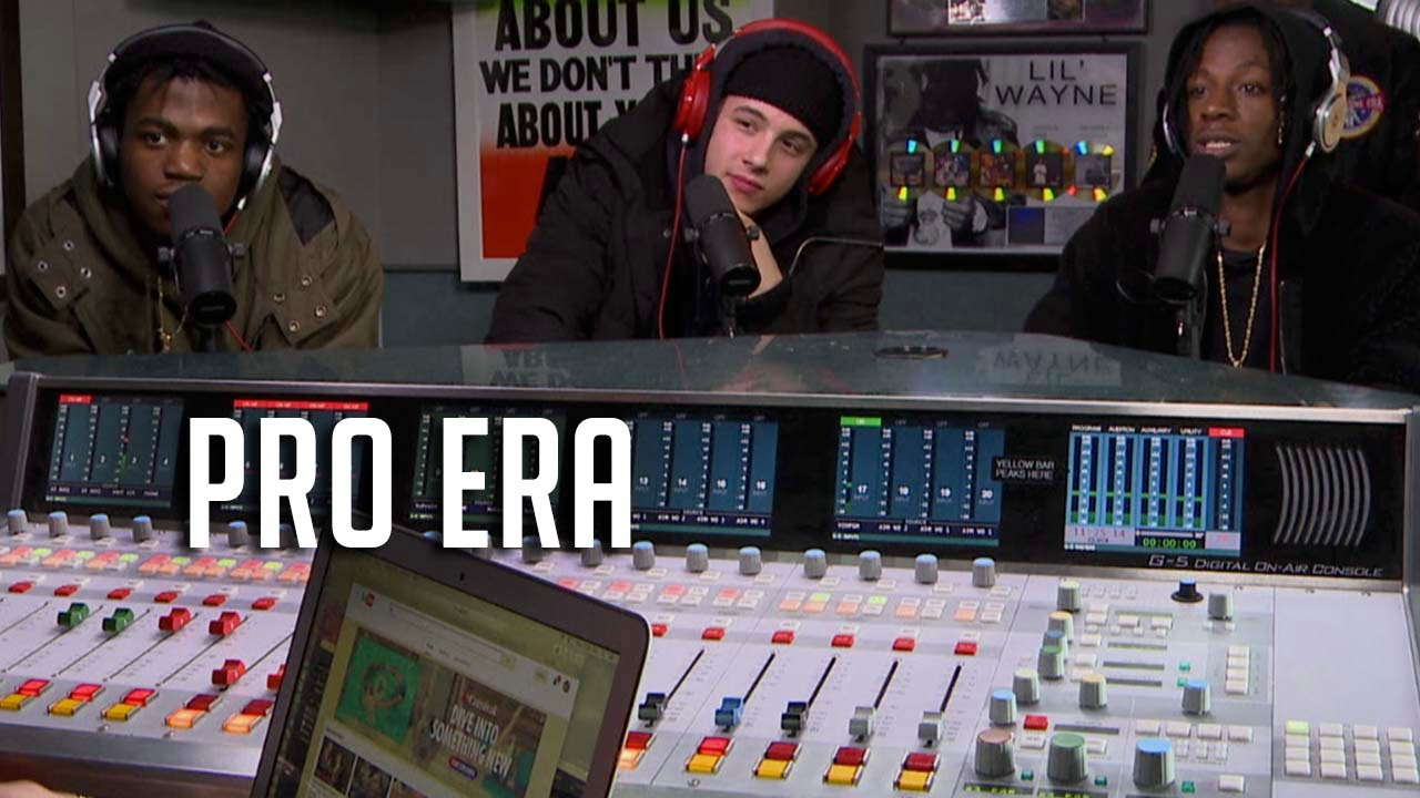 Pro Era Stops by Real Late With Peter Rosenberg, Spit 20 Min Freestyle