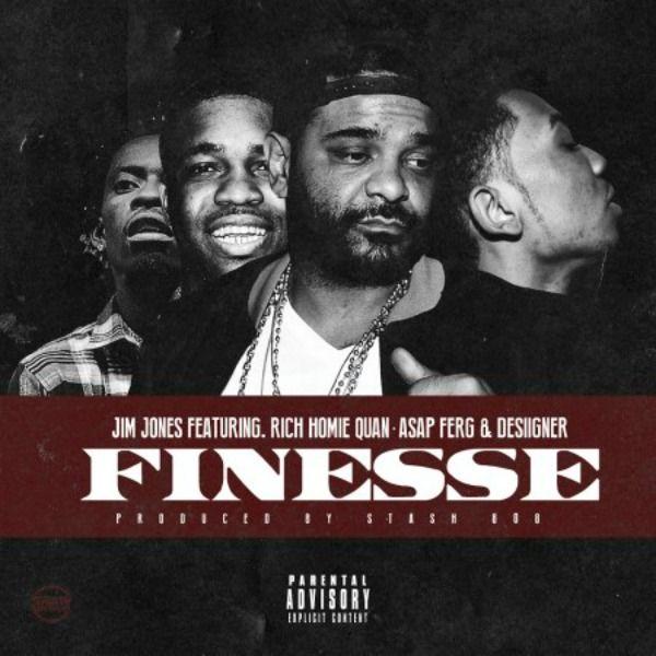 New Music: Jim Jones – Finesse (Ft. A$AP Ferg, Rich Homie Quan & Desiigner)