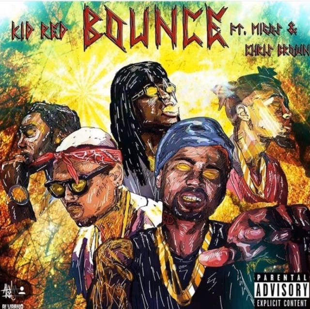 New Music: Kid Red – Bounce (Ft. Chris Brown & Migos)