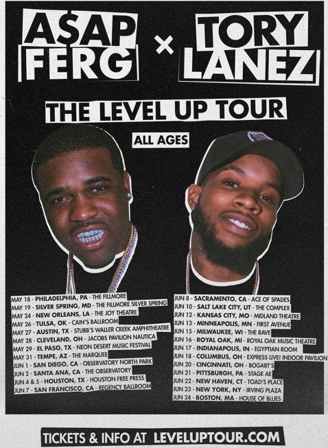 A$AP Ferg & Tory Lanez Announce 'The Level Up' Tour