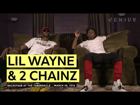 """Lil Wayne Teared Up After Hearing 2 Chainz's """"Dedication"""" (VIDEO)"""