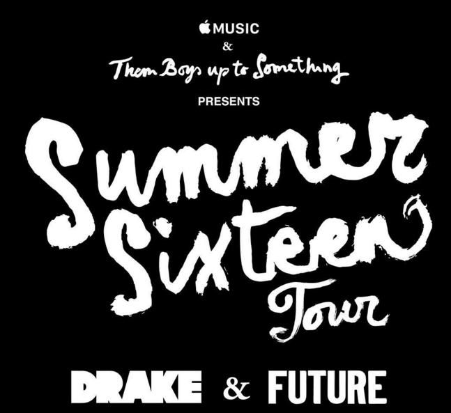 Drake & Future Announce 'Summer Sixteen' Tour