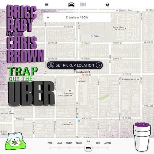 New Music: Bricc Baby feat. Chris Brown – Trap Out The Uber