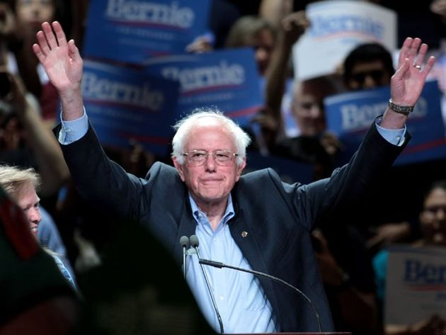 """Bernier Sanders Walks Out To DMX's """"Where The Hood At"""" In California Rally (VIDEO)"""