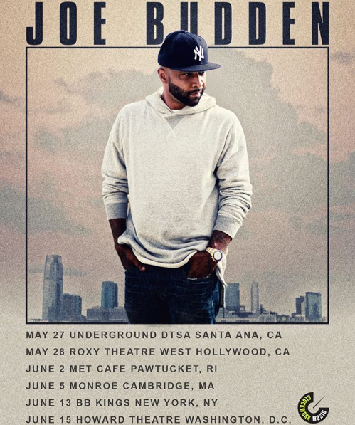 Joe Budden Announces Dates For His Last Tour
