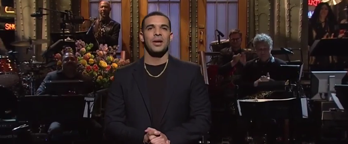 Video: Drake On Saturday Night Live
