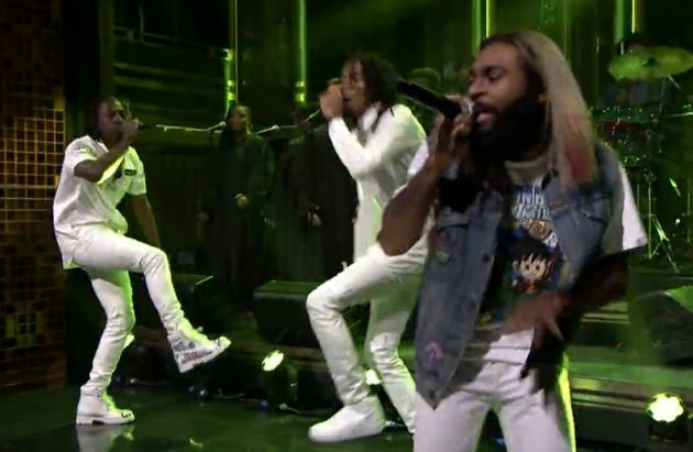 "Flatbush Zombies Perform ""Bounce"" On 'The Tonight Show' (VIDEO)"