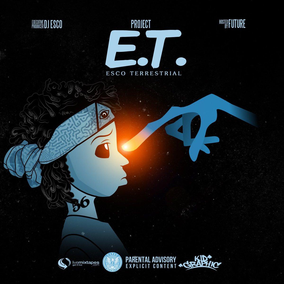 New Mixtape: DJ Esco & Future – 'Project E.T. Esco Terrestrial'