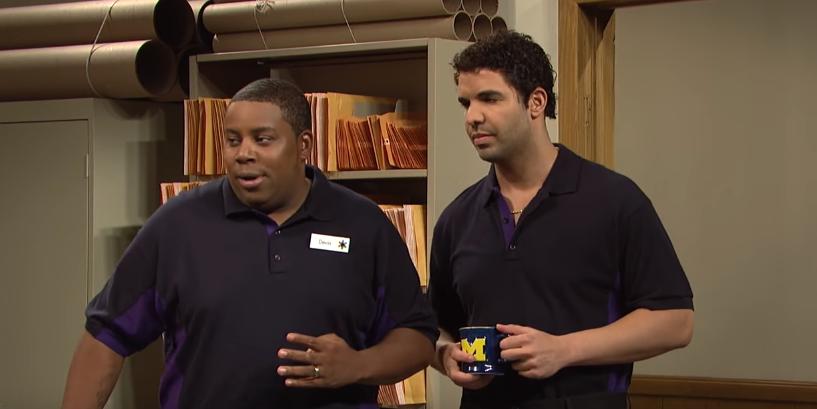 Video: Drake Stars In Unreleased SNL Skit 'Work Banter'