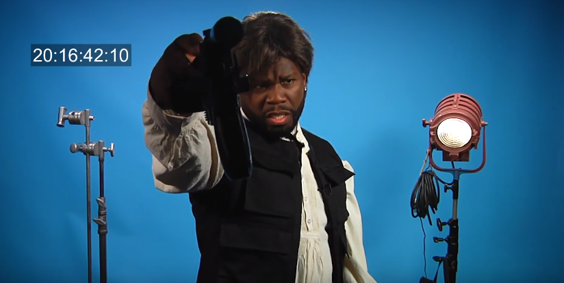 Video: 50 Cent Auditions For Role of Han Solo In Star Wars