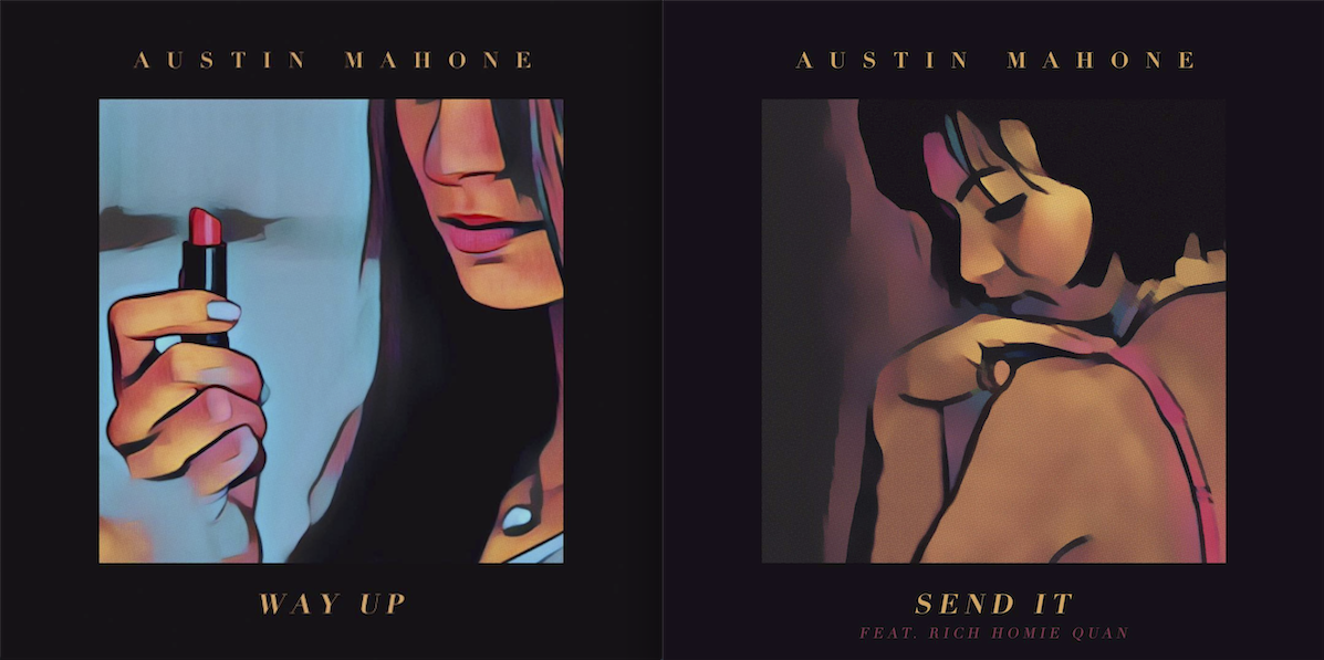 """Listen: Austin Mahone Releases 2 New Tracks – """"Way Up,"""" and """"Send It"""" feat. Rich Homie Quan"""