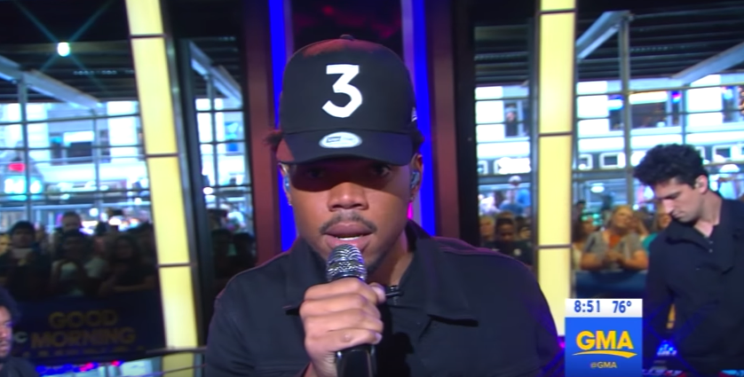 Video: Chance The Rapper Perform 'Summer Friends' on Good Morning America