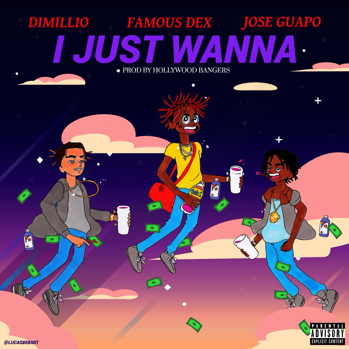 New Music: Dimillio – I Just Wanna (Ft. Famous Dex & Jose Guapo)