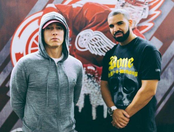 Drake Brings Out Eminem During Show In Detroit, MI (VIDEO)