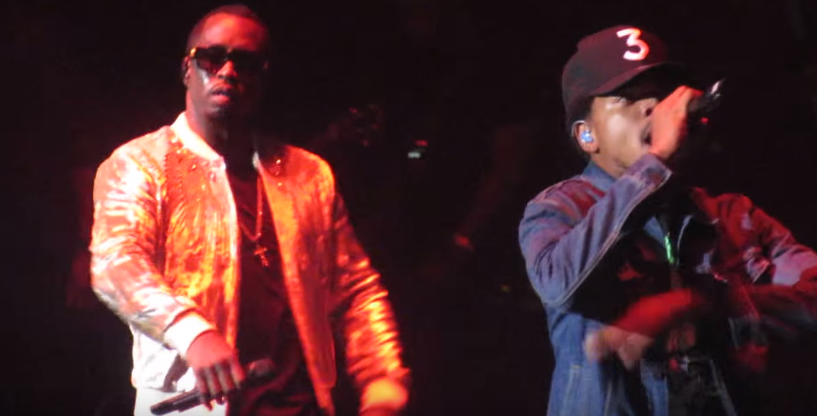 Video: Diddy Brings Out Chance The Rapper & Jeremih in Chicago