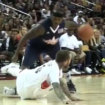 Mac Miller Gets Crossed & Falls During Celebrity Basketball Game (VIDEO)