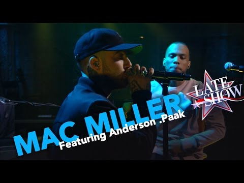 """Mac Miller & Anderson .Paak Perform """"DANG!"""" Live On 'The Late Show' (VIDEO)"""