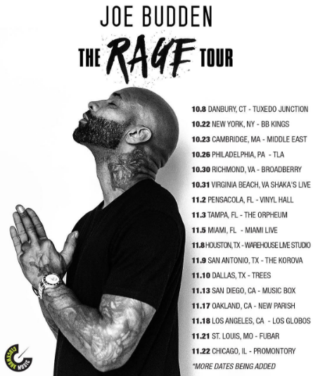 News: Joe Budden Announces 'The Rage Tour'