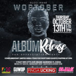 News: Gucci Mane Holding 'WOPTOBER' Album Release Party At Miami Finga Licking