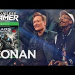 Wiz Khalifa & Conan O'Brien Smoke A Joint & Play 'Gears of War 4' (VIDEO)