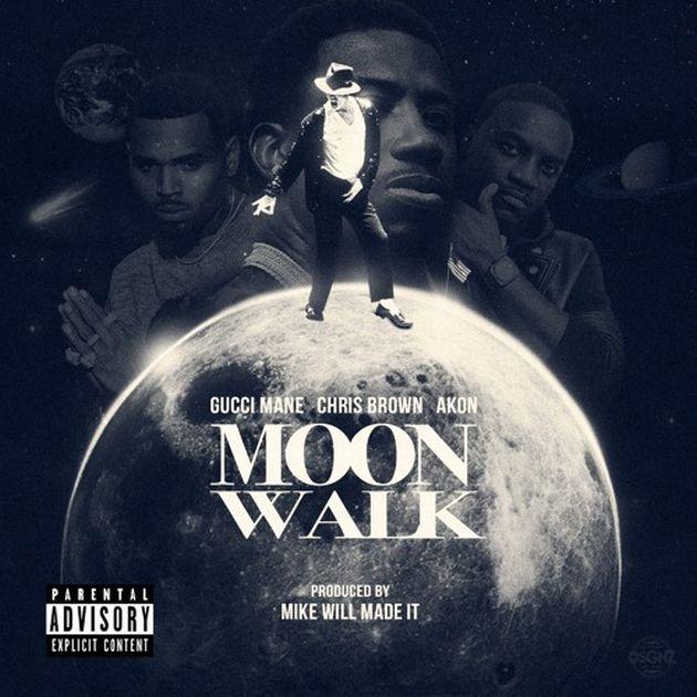 New Music: Gucci Mane – Moon Walk (Ft. Chris Brown & Akon)