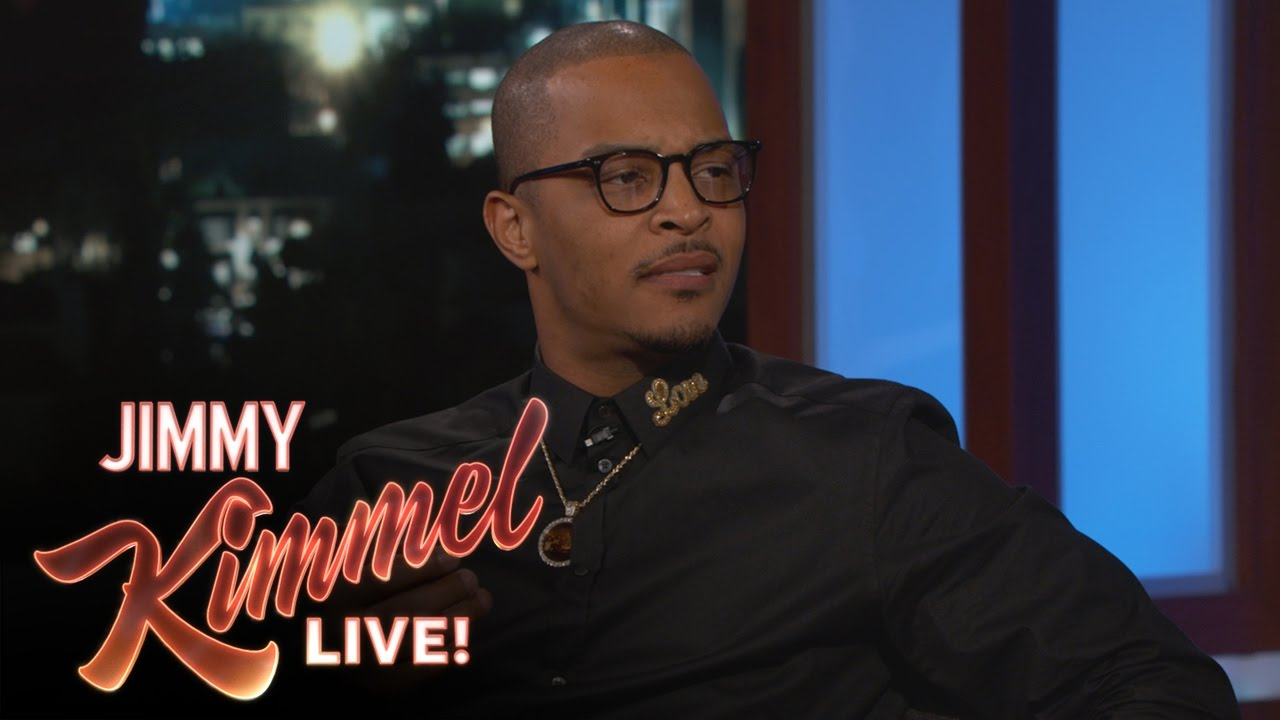 T.I. Talks Donald Trump, Changing His Name & More On 'Jimmy Kimmel Live!' (VIDEO)