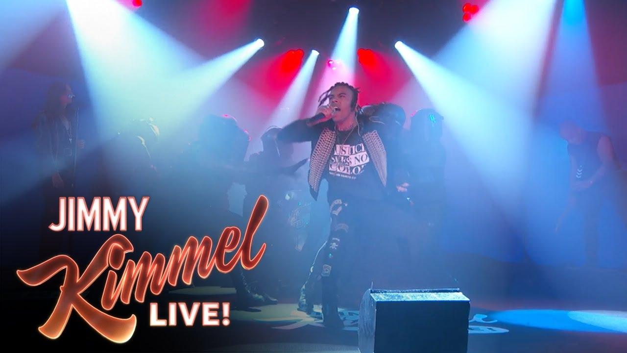 "Vic Mensa Performs ""16 Shots"" Live On 'Jimmy Kimmel Live!' (VIDEO)"