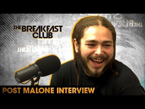 Post Malone Talks New Album, Justin Bieber & More On 'The Breakfast Club' (VIDEO)