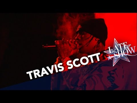"""Travi$ Scott Performs """"Sweet"""" & """"Goosebumps"""" Live On 'The Late Show' (VIDEO)"""