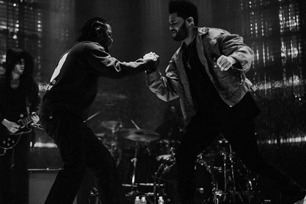 "The Weeknd & Kendrick Lamar Perform ""Sidewalks"" Live In L.A. (VIDEO)"