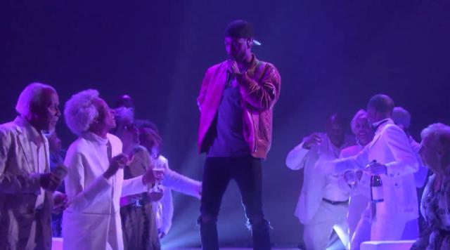 "Video: Big Sean Performs ""Moves"" Live On Ellen Show"