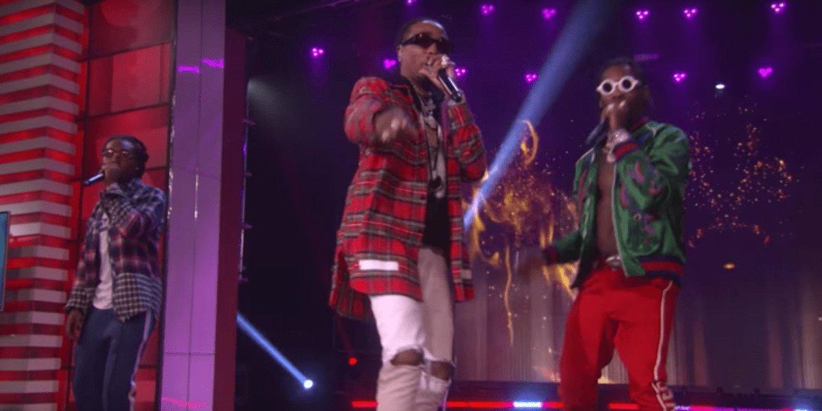 "Migos Perform ""Bad & Boujee"" Live On 'Ellen' (VIDEO)"
