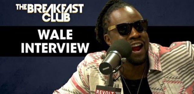 Wale Talks Meek Mill, J. Cole & New Album On 'The Breakfast Club' (VIDEO)