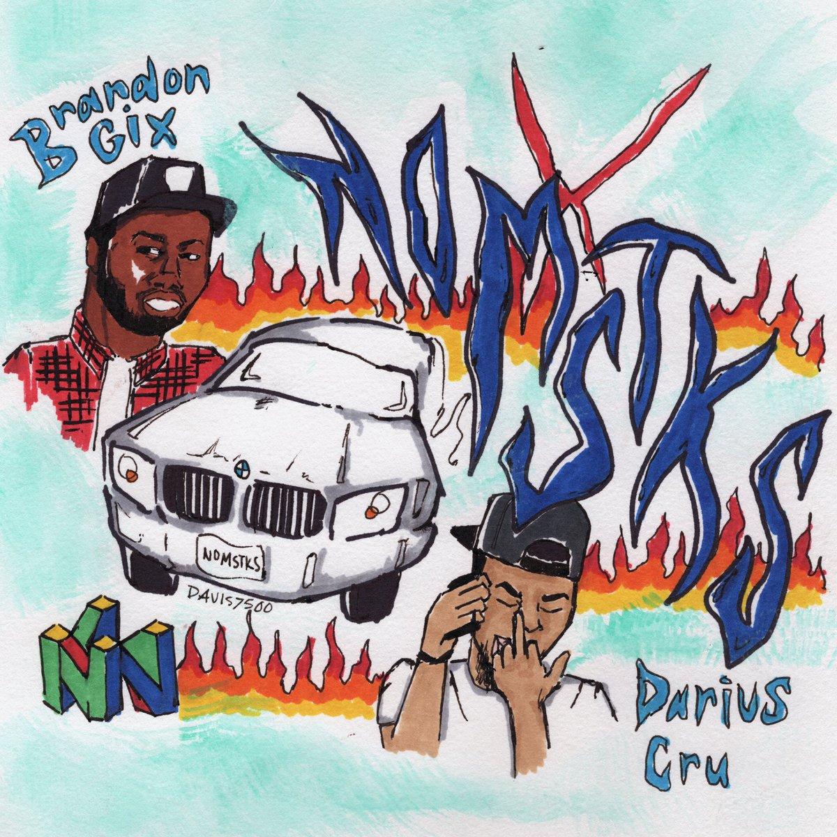 "New Music: NOMSTKS (Darius Cru x Brandon Gix) – ""NOMSTKS"" [EP]"