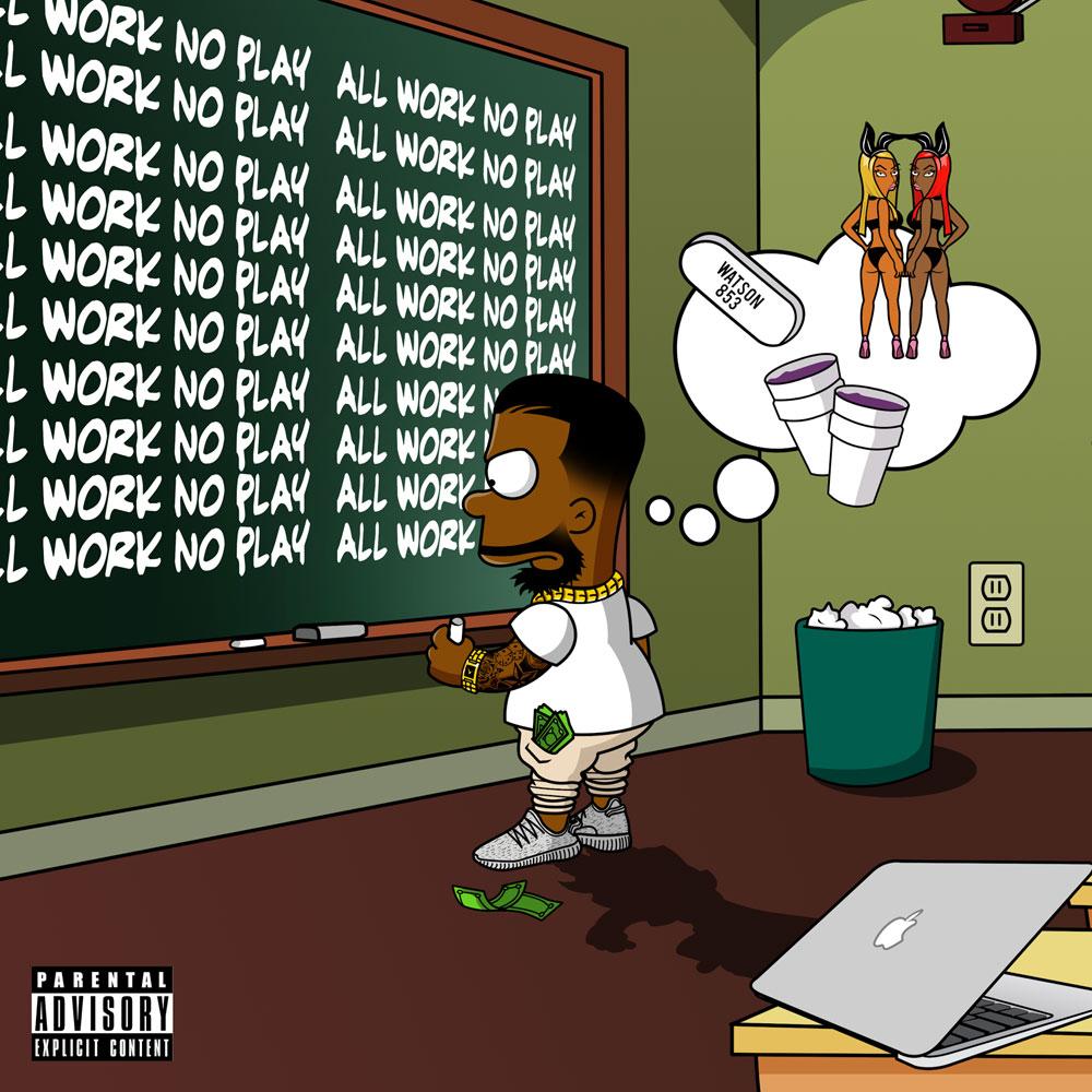 Young Gii – All Work, No Play [Album Stream]