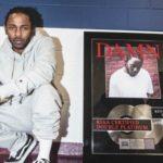 "Kendrick Lamar's Album ""DAMN."" Goes Double Platinum"